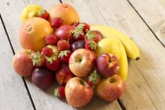 Biologische fruit