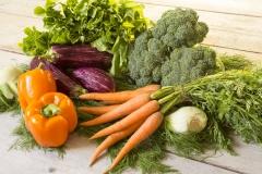 Biologische hollandse groenten
