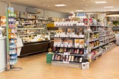 Biologische winkel binnen
